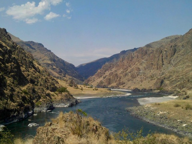 Confluence Snake and Salmon River Hells Canyon