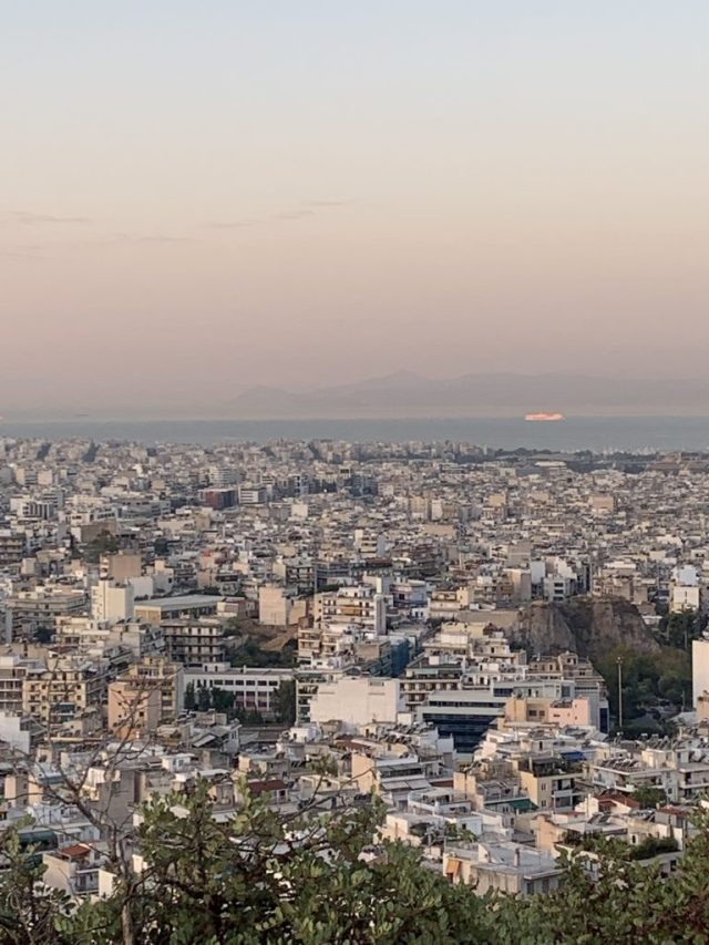 Philopappas Hill Athens Sunrise