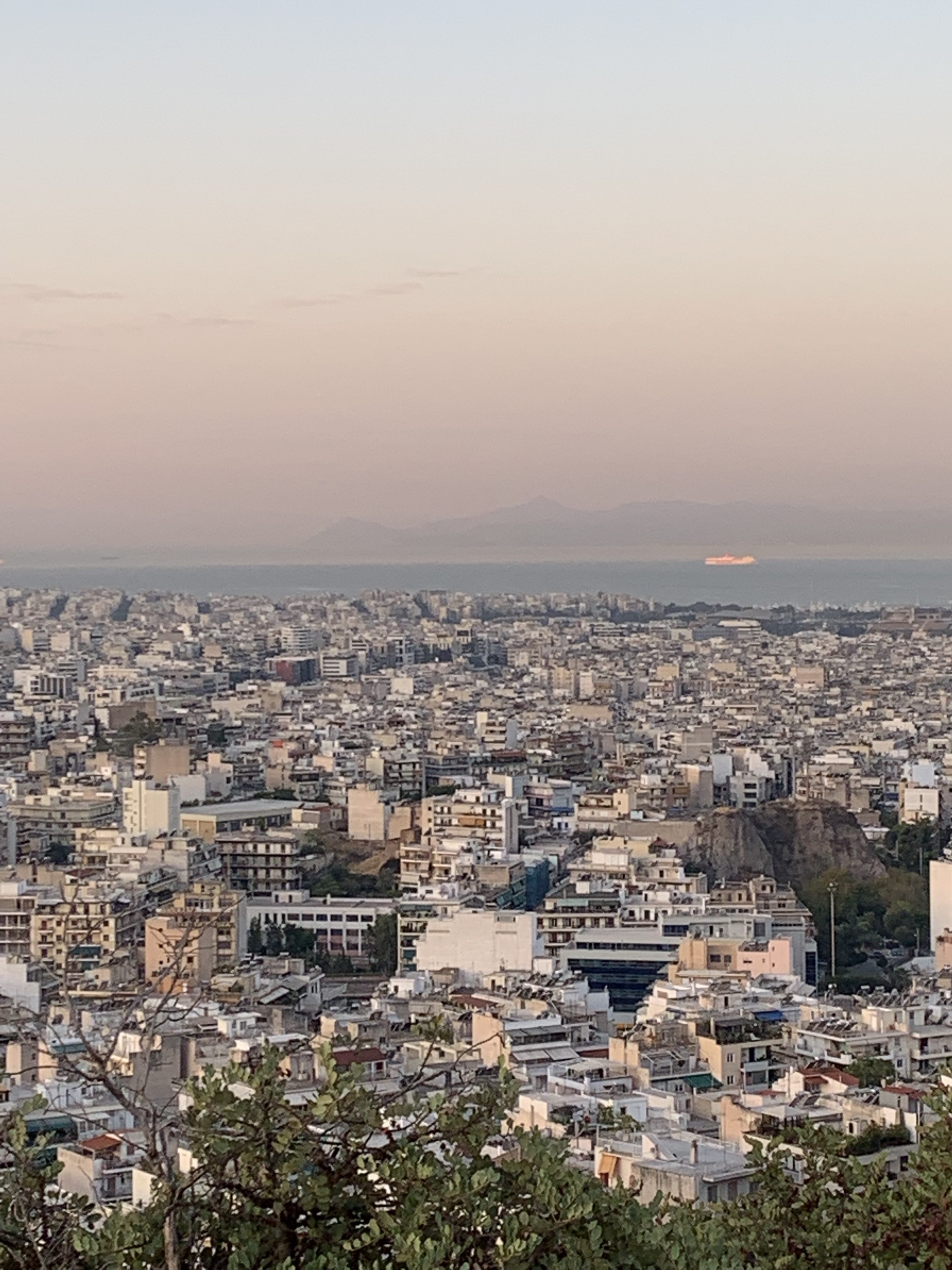 Philopappas Hill Athens Sunrise