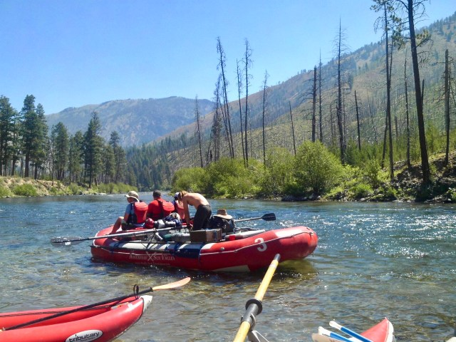 rafting middle fork of the salmon