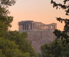 arriving in Athens