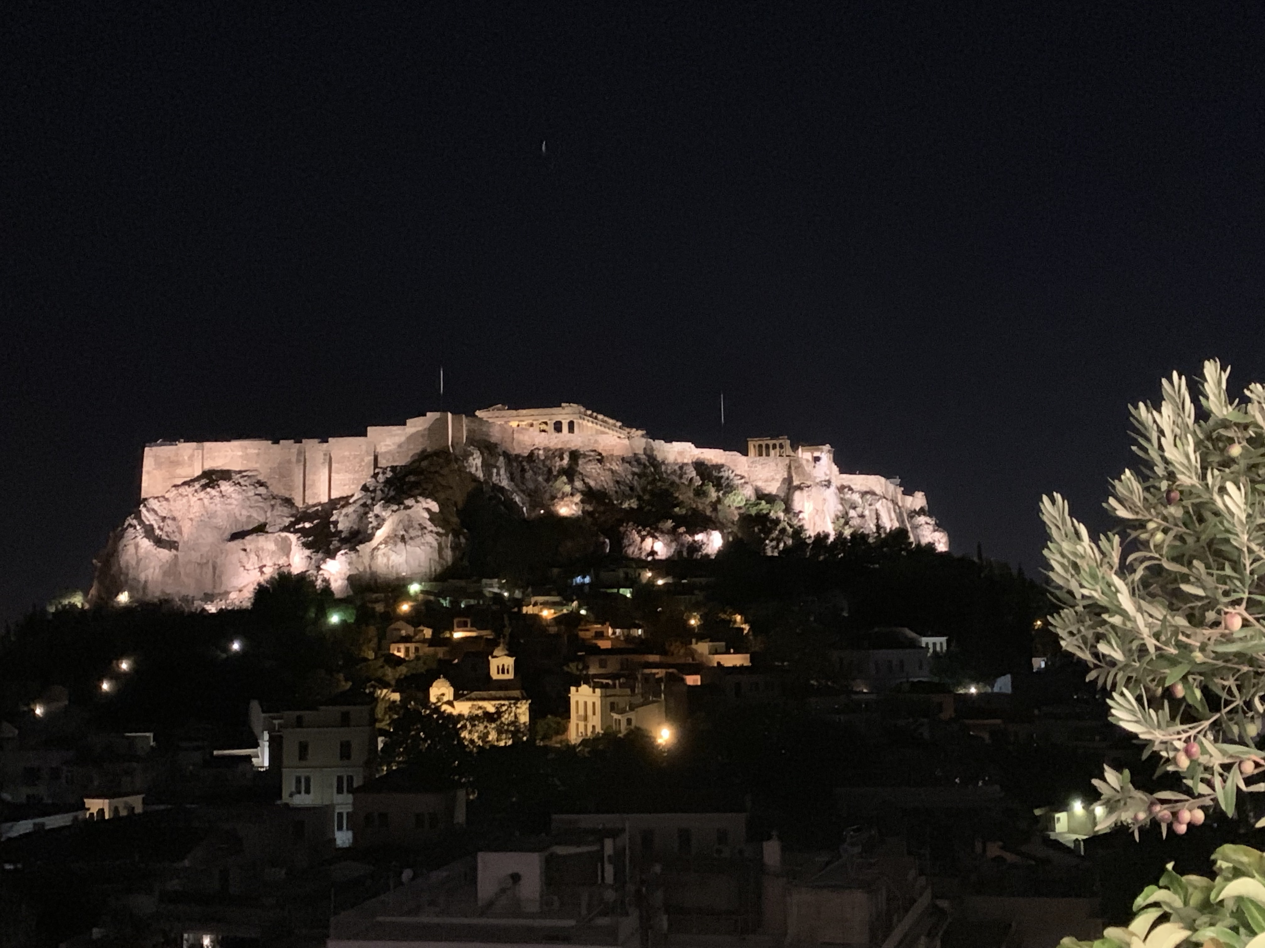 Athens before sunrise