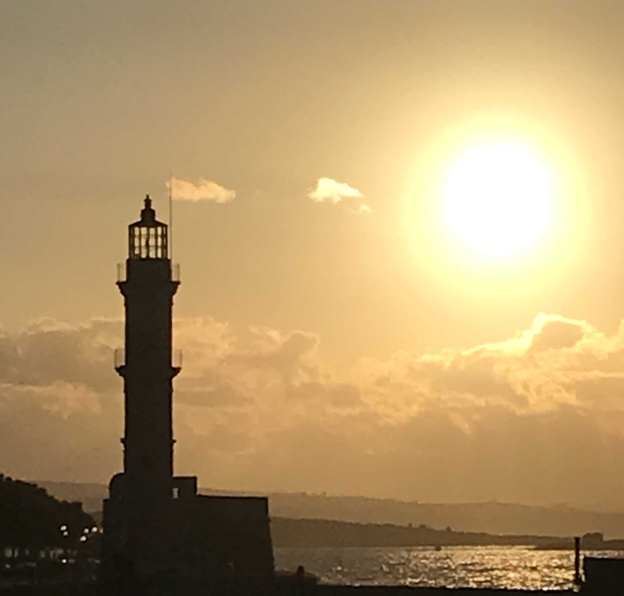 Chania Harbor lighthouse