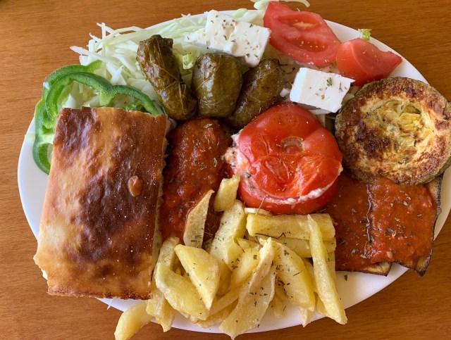 Taverna in Crete Greece