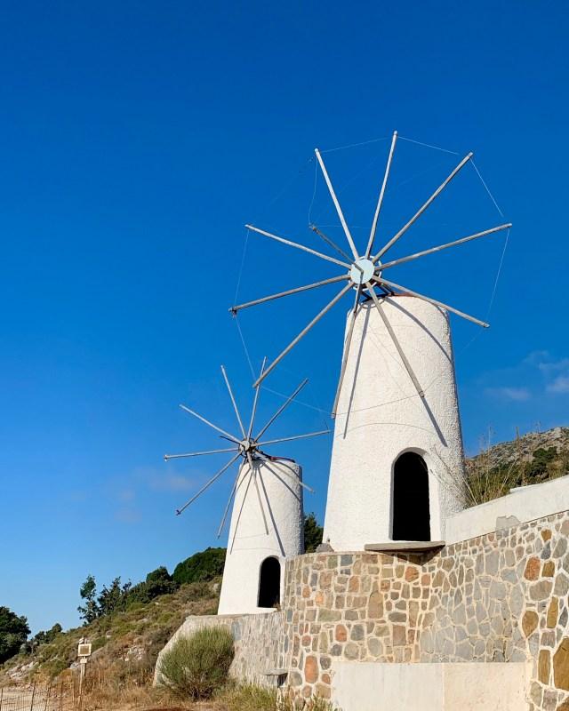 Whitewashed Windmills of Lasithi