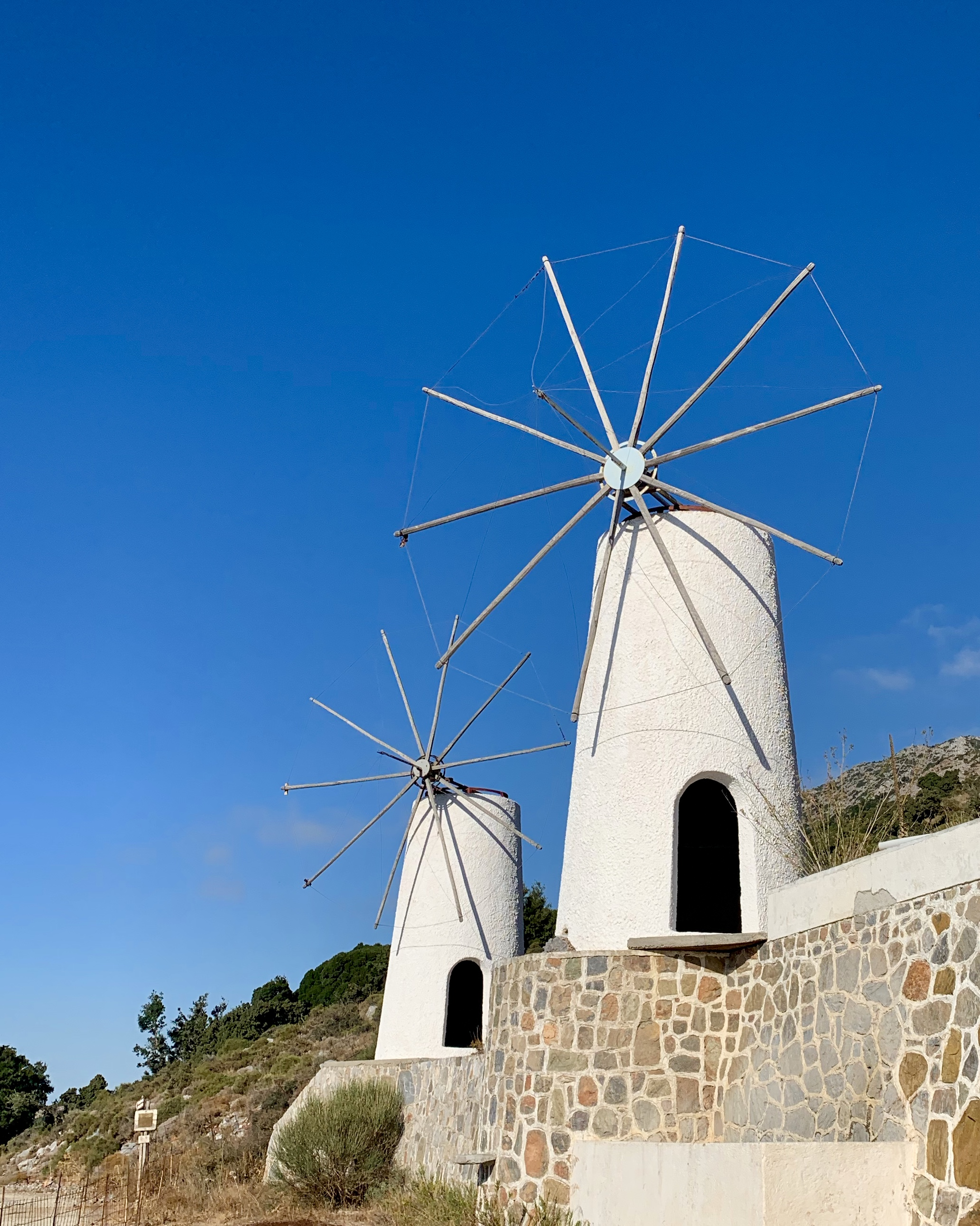 Whitewashed Windmills of Lasithi