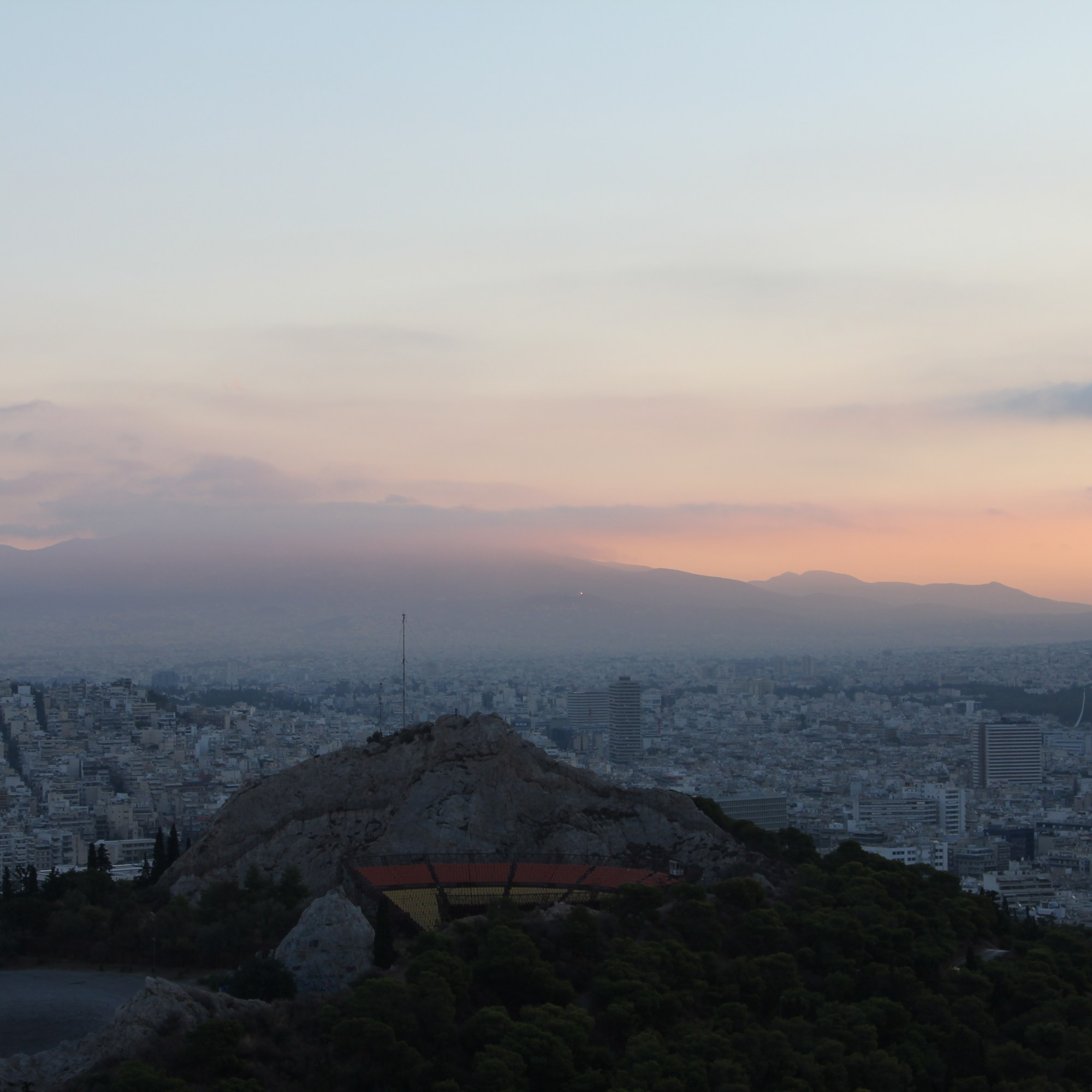 Lycabettus Hill sunrise