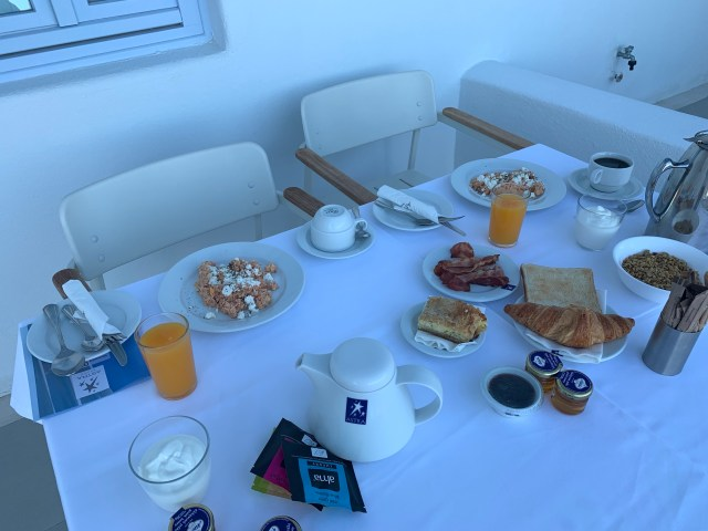 Breakfast at Astra Suites
