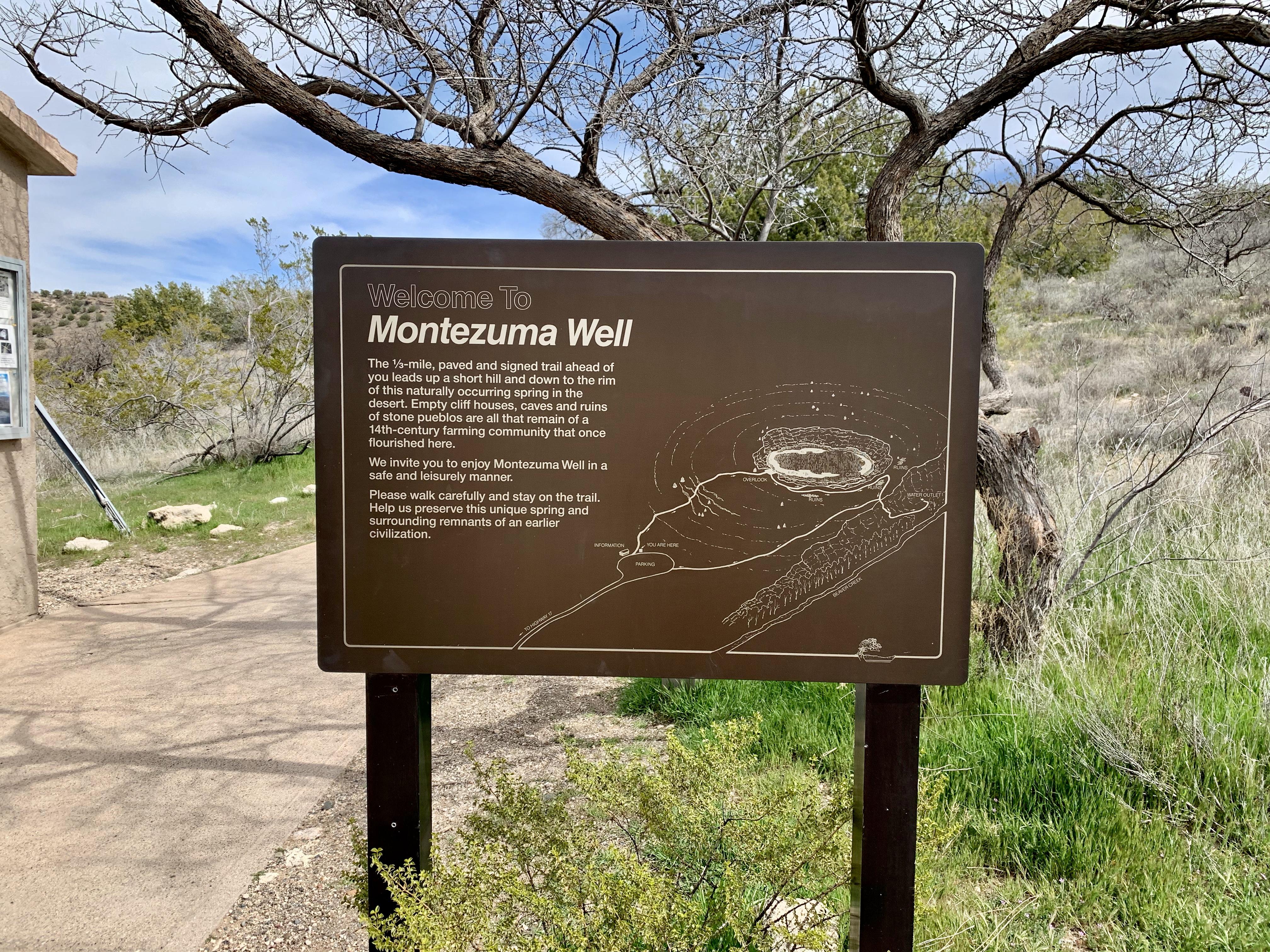 Montezuma Well Trail