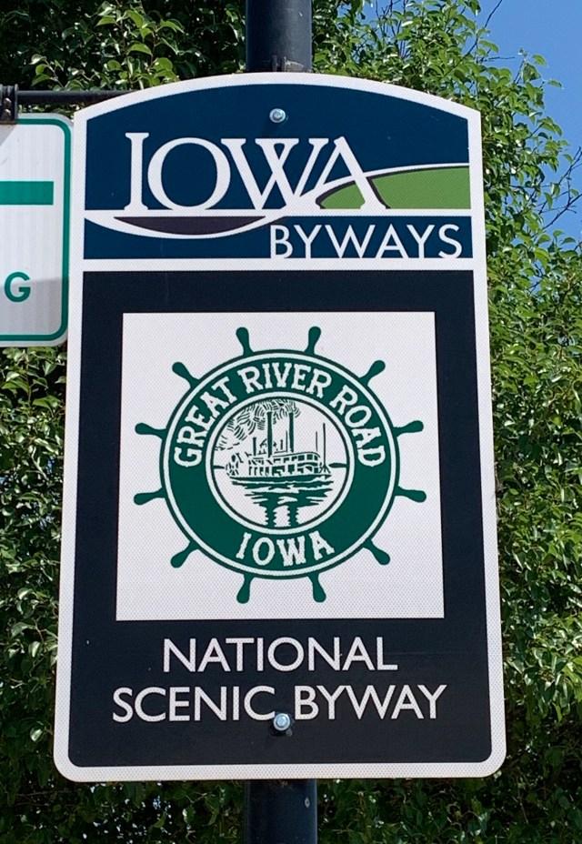 Iowa Mississippi River Road Trip
