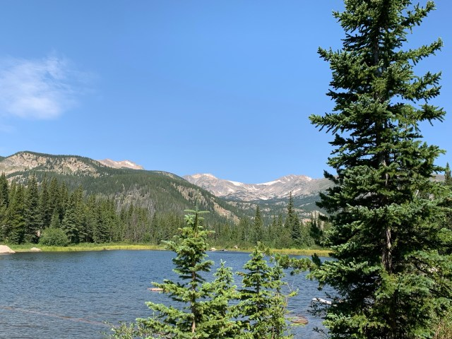 Lost Lake Trail near Nederland, Colorado is a 4.5 mile out and back trail which showcases waterfalls and a beautiful mountain lake.