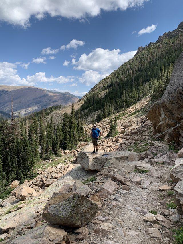 Odessa Lake Trail Colorado