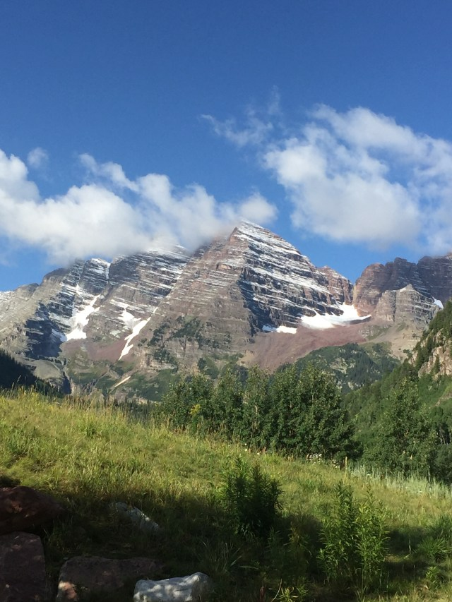 Maroon Bells and Crater LAke hike