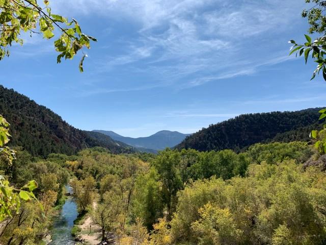 Overlook at Rifle Falls, Colorado