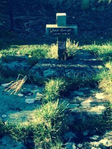 Patrick Kavanagh's unassuming grave