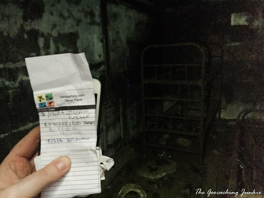 The Geocaching Junkie: Cold War Cache