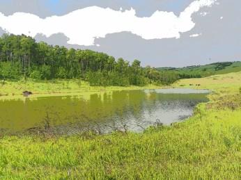 Key line - view towards pond inlet
