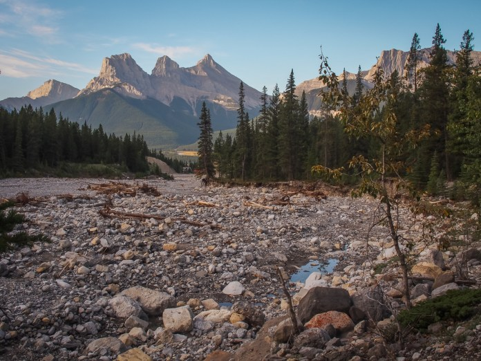 Another look at the Three Sisters from the Lady Mac trail marker