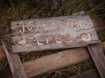 Kissing Tree marker