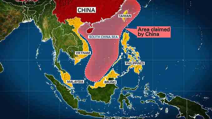 map of china sea The South China Sea Disputes And The Pivot To Asia The Geopolitics map of china sea