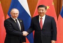 Xi jing ping and Putin