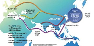 Belt and Road Initiative Map