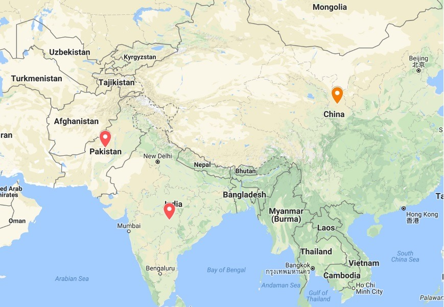 map of afghanistan pakistan and india India Pakistan China Trilateral Relations In A Changing Economic map of afghanistan pakistan and india
