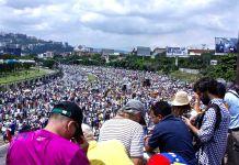 Venezuelan protesters