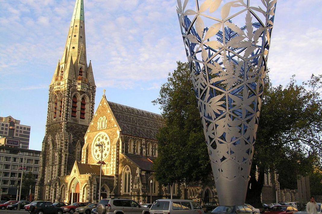 Christchurch Square New Zealand