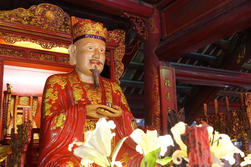 Confucius - Temple of Literature, Hanoi