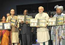 Prime Minister Narendra Modi at 3rd India-Africa Forum Summit