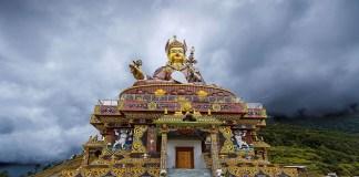 Guru Padmasambhava in Bhutan