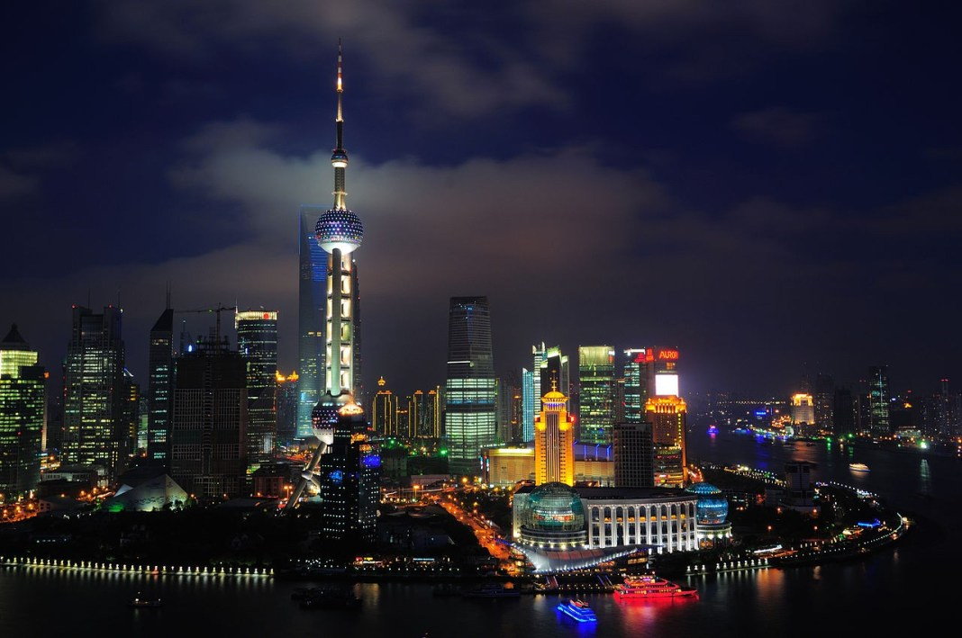 Shanghai, the financial centre of China