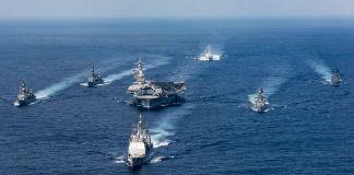 The Carl Vinson Carrier Strike
