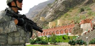 Torkham gate in Afghan-Pakistan border