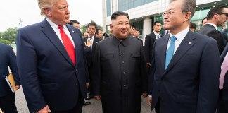 President Donald Trump and Chairman Kim Jong Un