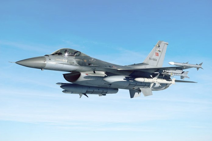 F-16 Fighting Falcon of Turkish Air Force