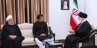 Pakistan PM Imran Khan met with Ayatollah Khamenei