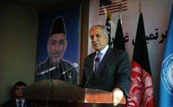 Zalmay Khalilzad American Peace Envoy