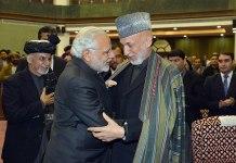 PM Modi, Hamid Karzai, Ashraf Ghani