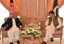 President Ashraf Ghani and PM Imran Khan