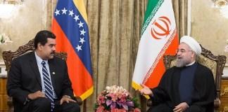 President Rouhani in meeting with Venezuelan President Nicolás Maduro