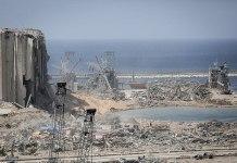 Damages after 2020 Beirut port explosions