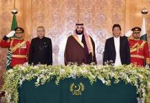 PM Imran Khan and Crown Prince MBS