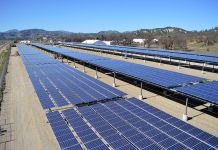 Solar power project in Fort Hunter Liggett