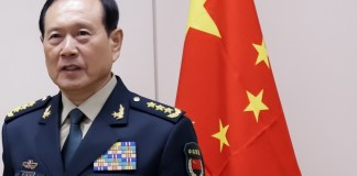 Chinese Defense Minister Wei Fenghe
