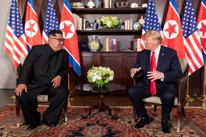 Trump Kim Summit at the Capella Hotel