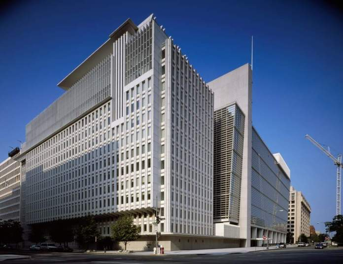 Headquarters of the International Monetary fund