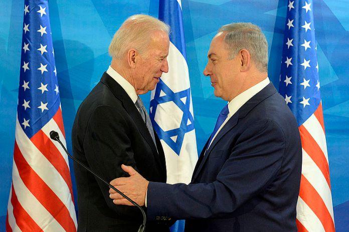 Vice President Joe Biden and PM Netanyahu