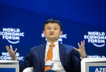 Jack Ma, Co-founder Ali Baba Group